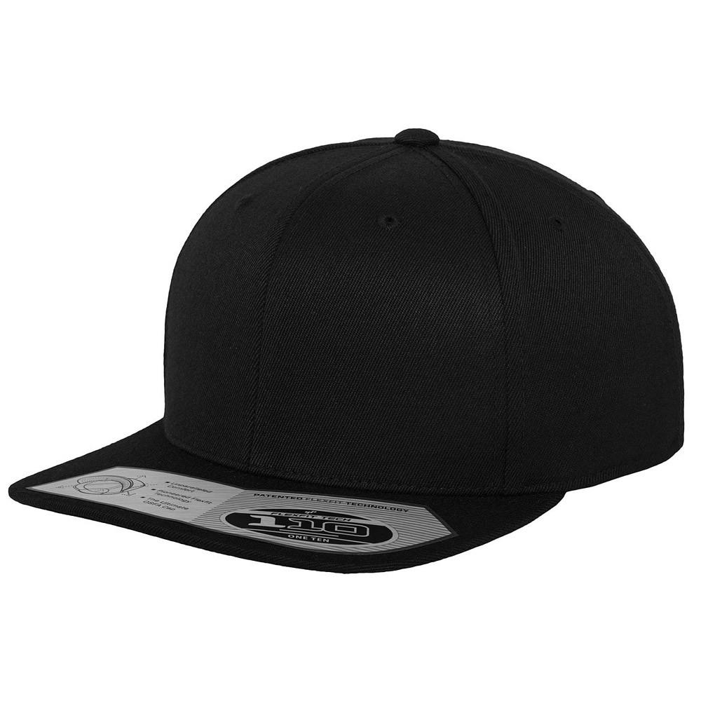 486bc4e2c5b 110F BLACK. Flexfit Yupoong Snapback Premium